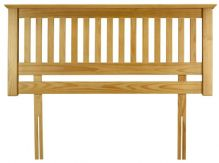 Barcelona Pine Headboard Double 135cm